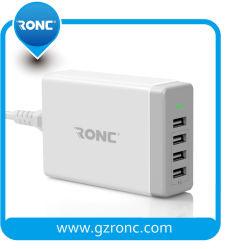 USB 벽 충전기를 위한 Ai 기능을%s 가진 다중 4개의 포트