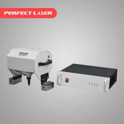 Computador de mão laser perfeita de CNC DOT PIN da máquina de marcação pneumática para peças metálicas