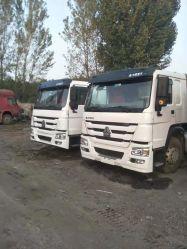Buen estado de China utiliza Sinotruck HOWO 6X4 371/375HP Tractor