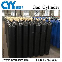 O dióxido de carbono, árgon oxigénio azoto de cilindros de gás de aço sem costura