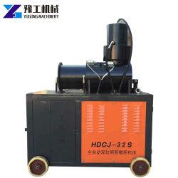 Regolazione della barra in acciaio capovolto macchina per la forgiatura a freddo per materiale da costruzione parallelo Filettatura