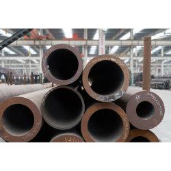 أنبوب فولاذي من الفولاذ القلي سلس مع درجة حرارة مشكل من القطر الكبير