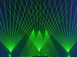 Grüner Laser der Stadiums-Beleuchtung-6W für DJ-Erscheinen
