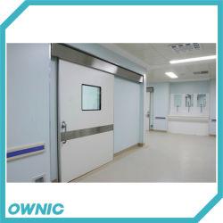 Встроенный Тип Автоматический герметичных сдвижной двери двойные открытой двери