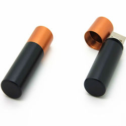 Batería de metal forma USB Pen Drive 4G 8G USB Stick para Customiszed Logo