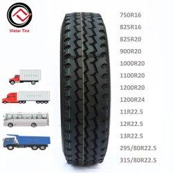 中国新しいRaidal TBRは工場750r16 825r16 900r20 1000r20 1100r20 1200r20 11r22.5 12r22.5 13r22.5 29580r22.5 315/80r22.5 385/65r22.5バスタイヤのトラックのタイヤにタイヤをつける