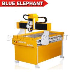 小型3D CNCのルーター6090 4軸線、広告業のためのCNCの彫版機械鋳鉄
