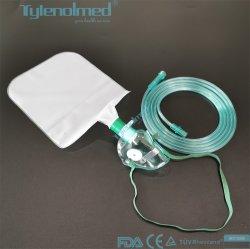 Médical haute concentration jetable masque à oxygène/Non pour les adultes de masque de réaspiration