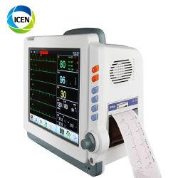 IN-C041 휴대용 ICU 심장 Etco2 혈압 Multi- 참을성 있는 모니터
