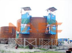 Tanque automática lateral duplo Cintura Seam máquina de soldar para construção de baixo para cima