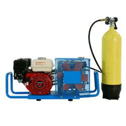 Il compressore d'aria ad alta pressione della benzina libera di trasporto 3HP 3.5cfm 4500psi degli S.U.A. per Paintball/scuba/il fuoco respira/riempiendo