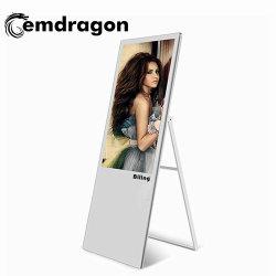 43 Tragbare digitale Werbung Bildschirme Touchscreen Monitor 43inch LCD Werbung Video Display Werbung Player