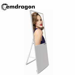 Kiosque HD Portable la signalisation numérique LCD 32 pouces de Kiosque Self-service kiosque de la publicité pour l'utilisation de supermarchés de la signalisation numérique LCD