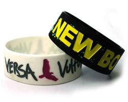 Custom Logo Volwassen maat Silicone Armband voor Sport (YB-w-009)