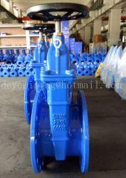 La norme DIN3352 F4 Siège résilient en caoutchouc vanne DN300