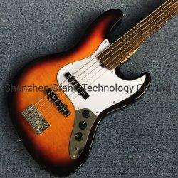 La vente en gros de qualité personnalisé Rick 5 cordes guitare basse électrique