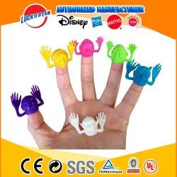 Furchtsame Hauptfinger-Marionetten-Plastikspielzeug-Gerät für Kind-Förderung