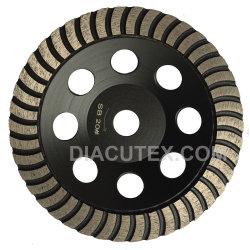 wiel van de Kop van de Rand van 125mm het Ononderbroken Turbo Fijne Malende