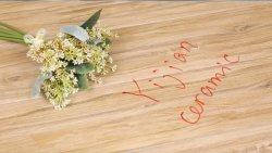 La planche en bois rustique en céramique en porcelaine de plancher Plancher Plancher tuile en bois 150x800mm (W8512)