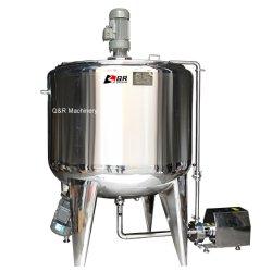 Aço inoxidável de mistura de pequenos bens móveis de melaço de processamento de metanol de bebidas de leite do tanque de tecto flutuante