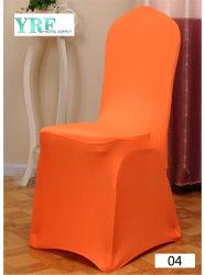 Negro Yrf Universal baratos estiramiento Spandex Swag elástica silla cubierta para el banquete de bodas Hotel parte