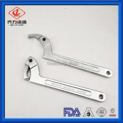 Gesundheitlicher Edelstahl SS304 LÄRM Verbindungsstück-Schlüssel-Schlüssel