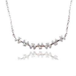 Мода ювелирные изделия и принадлежности/Парижем стерлингов разорванные ожерелья как подарок для девочек