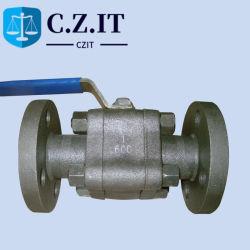 A105n la caja de cambios de la API de la Forja de acero al carbono brida Válvula de bola