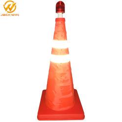 45cm de altura a segurança rodoviária reflexo do Cone de tráfego retrátil para venda