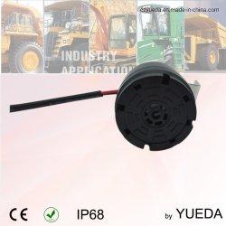 12-24V 102dB는 IP68 둥근 작은 시끄러운 백업 차 경보를 방수 처리한다