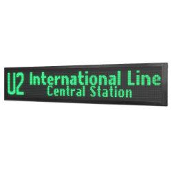 P10 Outdoor exécutant une seule couleur du texte vert Module LED affichage de texte/ ECRAN