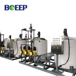 La norma ISO/SG/CE de dosificación química cáustica Skid fabricante para el tratamiento de efluentes