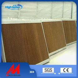 شركة كرافت للمواد الزراعية شركة Air Cooling Paper Pad Wall Daws Farm ستارة رطبة