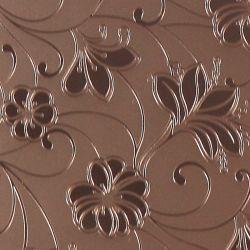 3-6mm AM-81 Ácido decorativos gravados Arte Fosco espelho de arquitetura