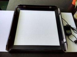 陽極酸化されたLEDの端のLitポスターフレームのライトボックスの表示印