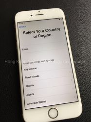 أمدها باستخدام الهاتف الذكي I Phone اليدوي الثاني الأصلي 6 بسعة 16 جيجا بايت سعة 32 جيجا بايت 64 جيجا بايت 128 جيجا بايت