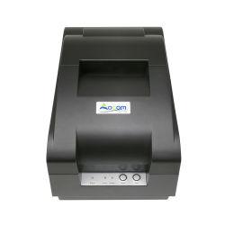 طابعة إيصال فاتورة القاطع الآلي من السوبر ماركت مقاس 76 مم DOT Matrix Printer مع الشريط