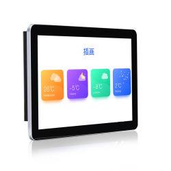 11 11.6를 유숙하는 까만 백색 알루미늄 합금 12 인치 접촉 스크린 LCD 위원회 모니터