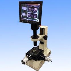 A medição do Microscópio monocular com tela de LED de vídeo Câmera Digital