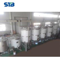 La ejecución de bajo coste del depósito de líquido aséptico para la producción de alimentos