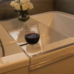 Custom Clear акриловые ванны лоток в ванной комнате