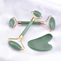 Natürliche Dongling Jade-einzelnes Hauptrollen-Schönheits-Hilfsmittel