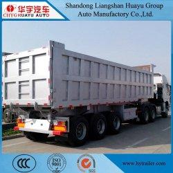 Benne semi remorque de camion-citerne pour les pellets d'alimentation/du matériel d'alimentation