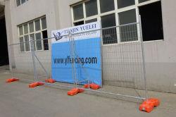 Alambre de hierro recubiertas de PVC de Gi cercado de cadenas de cable/hierro Piscina vallas/Negro valla de hierro forjado de venta