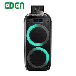 2020 новых двух 8 дюймовый профессиональный беспроводной связи Bluetooth аккумулятор портативного группа динамик ED-825