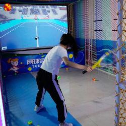 실내 게임 시뮬레이터 존 대화형 테니스 게임 머신