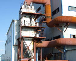 Four à arc submergé de silicium industrielle chaudière à gaz d'échappement