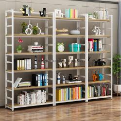 Moderner Bibliotheks-Buch-Regal-Bildschirmanzeige-Speicher-Bücherschrank für Kind-Schlafzimmer-Aluminiumlegierung-Möbel-Rahmen