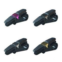 Plastikselbstauto Sunglass Brille-Glas-Karten-Karten-Masken-Klipp-Halter für Auto-Zubehör