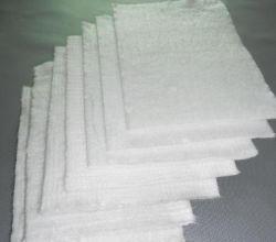 المادة العازلة الصناعية مادة إبرة من الزجاج الفبرجلاس عالي السيليكا